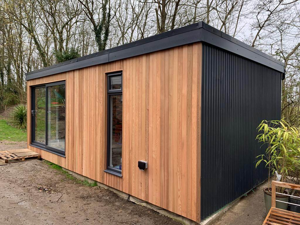 7m x 4m garden office Kent (2)